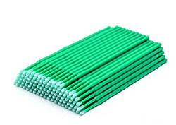 Микробраш для ресниц - Зеленый 100 шт (пакет)