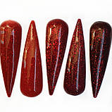 Гель лак GeliX - RED Diamond   №5, фото 2