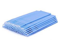 Микробраш для ресниц - Голубой 100 шт (пакет)