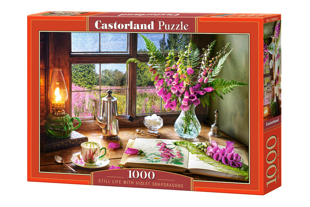 Пазлы Castorland на 1000 элементов Натюрморт С-104345