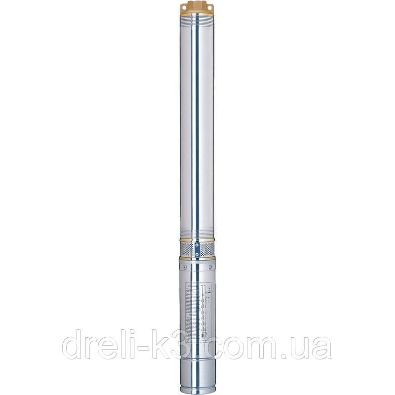 Насос центробежный скважинный 1.1кВт H 134(105)м Q 55(33)л/мин Ø102мм AQUATICA (DONGYIN) (777124)