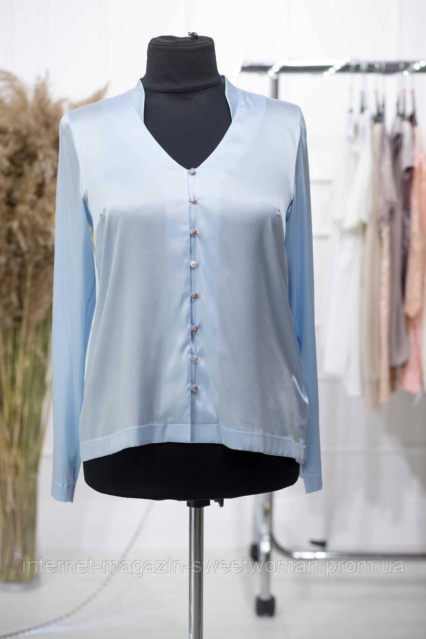 Блакитна блуза Verezhik house