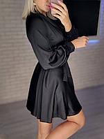 Жіноче ніжне плаття з шовку з імітацією на запах (Норма), фото 10