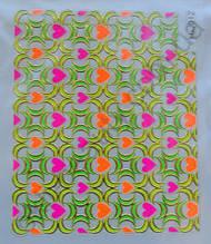 Наклейка для дизайна ногтей на клеевой основе №12