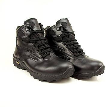 """Тактические ботинки STIMUL """"ULTRA-black crazy"""" зимние, демисезонные"""