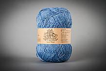 Пряжа с ангорой Vivchari Semi-Wool Angora, Color No.302 голубой
