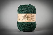 Пряжа с ангорой Vivchari Semi-Wool Angora, Color No.304 темно-зеленый