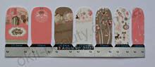 Лаковая пленка для дизайна ногтей, D1027