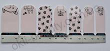Лаковая пленка для дизайна ногтей, D1028
