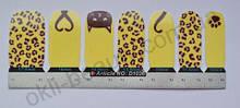 Лаковая пленка для дизайна ногтей, D1036