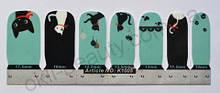 Лаковая пленка для дизайна ногтей, K1005