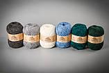 Пряжа с ангорой Vivchari Semi-Wool Angora, Color No.306 антрацит, фото 3