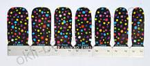Лаковая пленка для дизайна ногтей, S1083