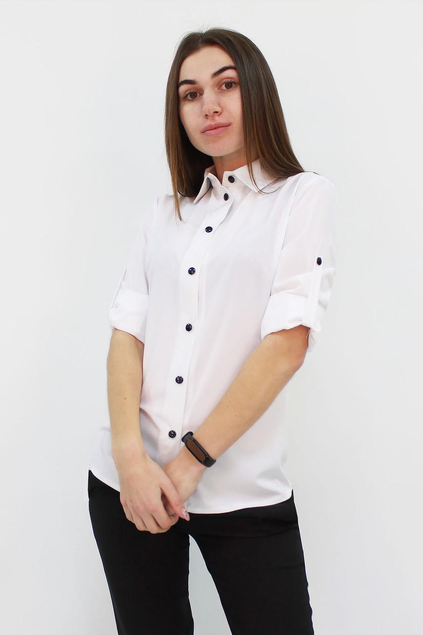 Класична жіноча сорочка Ivory, білий