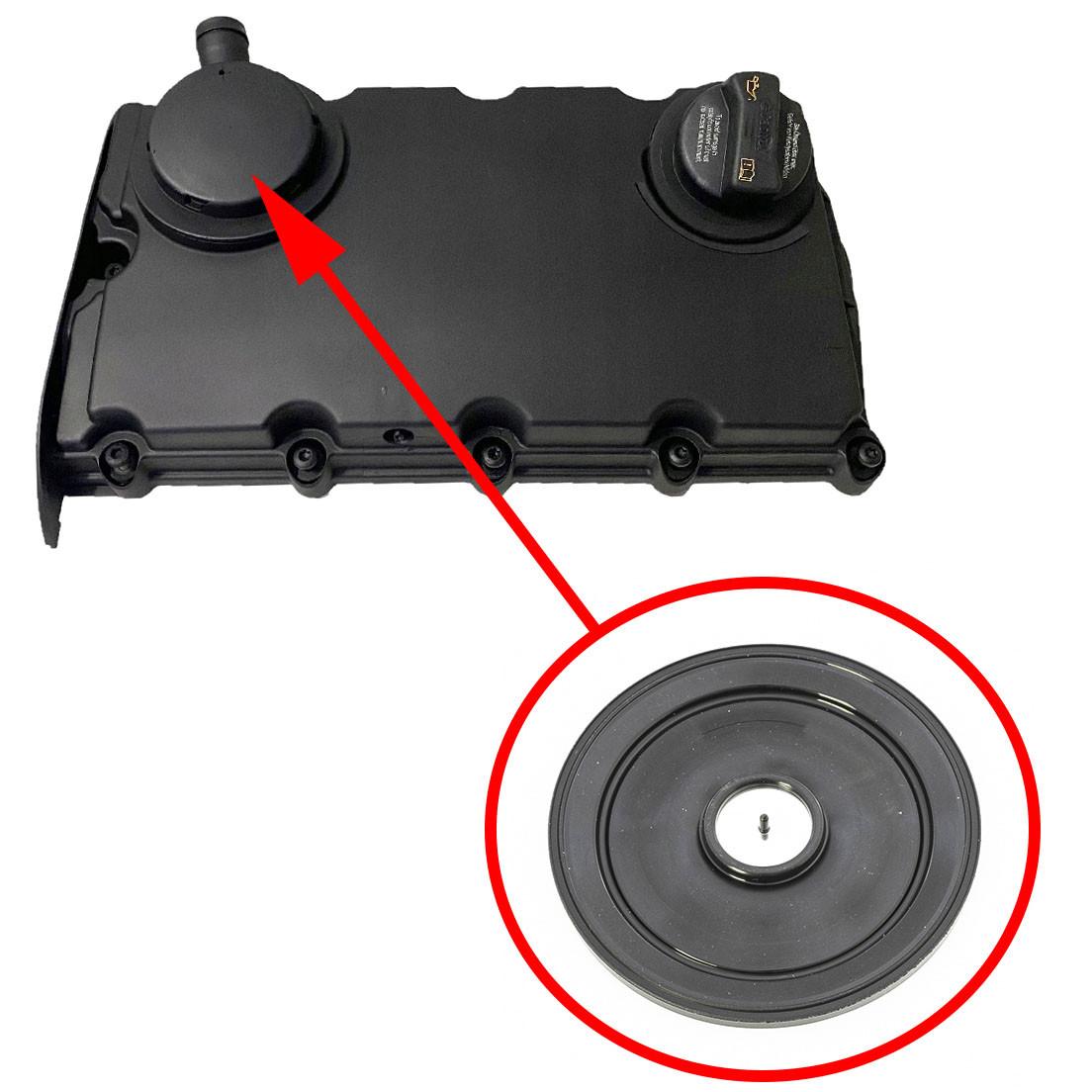 Мембрана клапанної кришки AUDI A6, A4 2.0 TDI 03G103469K, 03G103475B