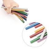 Комплект цветных перламутровых клеевых стержней 11.2мм*200мм, 12шт INTERTOOL RT-1035, фото 4