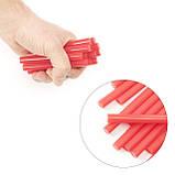Комплект красных клеевых стержней 11.2мм*100мм, 12шт. INTERTOOL RT-1041, фото 4