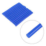 Комплект голубых клеевых стержней 7.4мм*100мм, 12шт. INTERTOOL RT-1054, фото 3