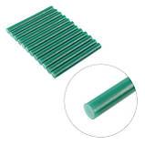 Комплект зелених клейових стрижнів 11.2 мм*100мм, 12шт. INTERTOOL RT-1056, фото 3