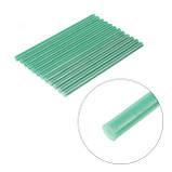 Комплект зеленых клеевых стержней 11.2мм*200мм, 12шт. INTERTOOL RT-1057, фото 3