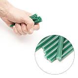 Комплект зеленых клеевых стержней 7.4мм*100мм, 12шт. INTERTOOL RT-1058, фото 4