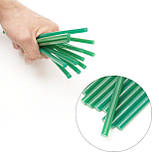 Комплект зеленых клеевых стержней 7.4мм*200мм, 12шт. INTERTOOL RT-1059, фото 4