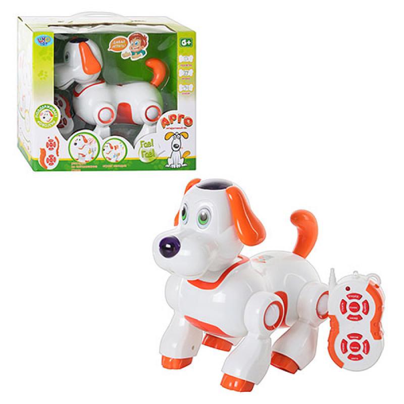 Собака робот интерактивная лает