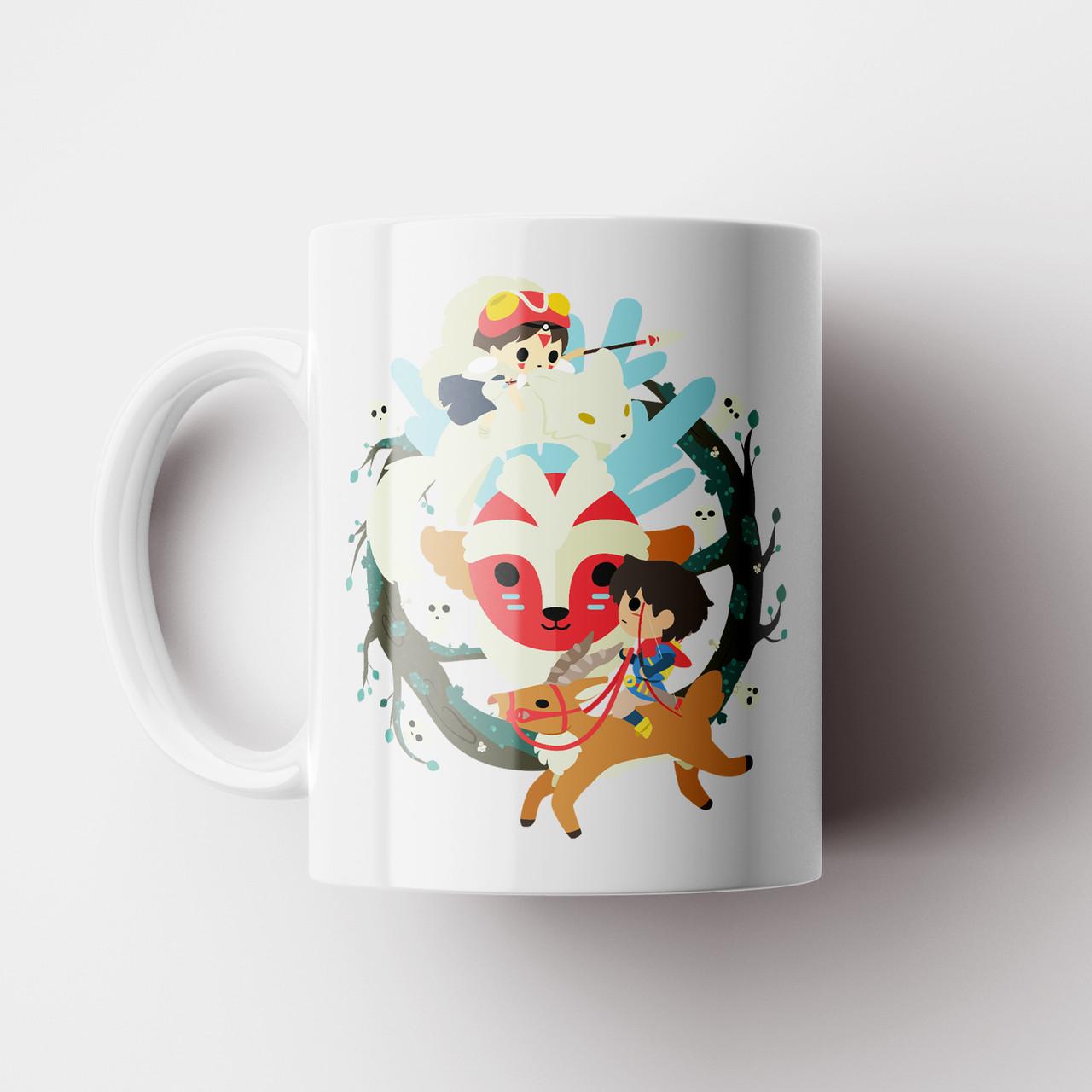 Кружка Принцесса Мононоке №7. Чашка Аниме