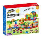 Детский конструктор паровозик 146 деталей | Конструктор паровоз  аналог lego, фото 2
