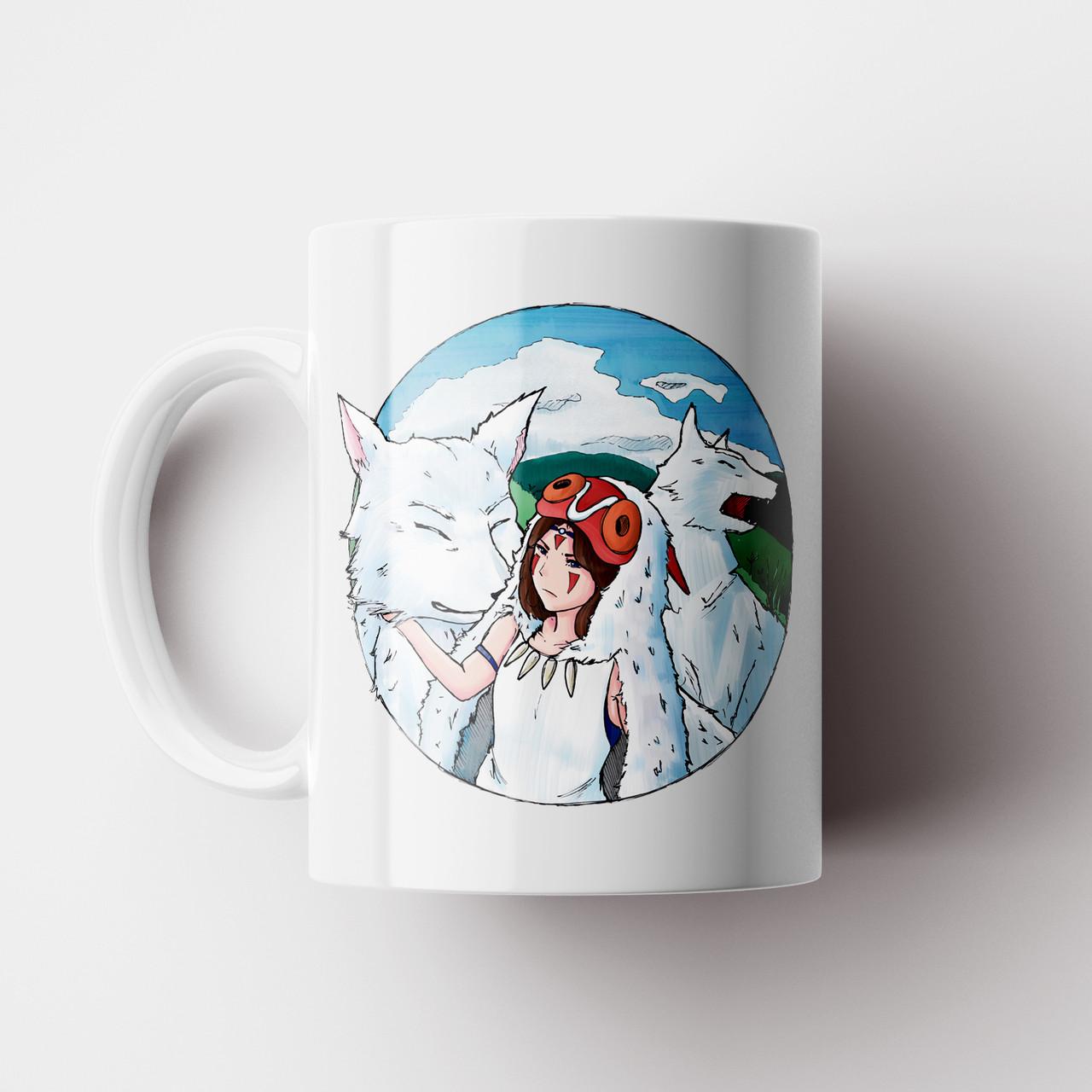 Чашка Принцеса Мононоке. Аніме