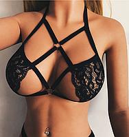 Эротическое белье. Портупея. Ремни на тело  Сексуальное боди (48 размер размер L), фото 1
