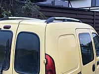 Renault Kangoo 1998-2008 гг. Рейлинги Хром Стандартная база, Пластиковые ножки