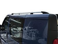 Renault Trafic 2001-2015 гг. Рейлинги Хром Короткая, пластиковые ножки