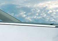 Renault Clio и Symbol 1999-2006 гг. Наружняя окантовка стекол (HB, 4 шт, нерж)
