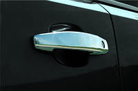 Chevrolet Orlando 2010↗ гг. Накладки на ручки (4 шт) OmsaLine, Итальянская нержавейка