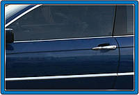 BMW 3 серия E-46 1998-2006 гг. Окантовка стекол (нерж.)