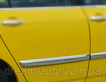 Toyota Corolla 2002-2007 рр. Молдинг дверний (4 шт, нерж)