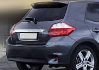 Toyota Auris 2007-2012 гг. Накладка над номером (нерж)