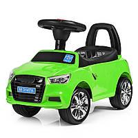 Каталка-толокар Audi Bambi M 3147A(MP3)-5 Зеленый | Машинка толокар Бемби с MP3