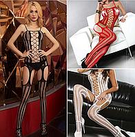Эротическое белье. Эротический костюм боди-комбинезон Corsetti Laura (54 размер. размер xL ), фото 1