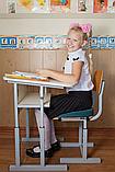Подушка детская ортопедическая для сидения School Comfort Correct Shape, синий, фото 8
