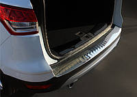 Ford Kuga/Escape 2013-2019 гг. Накладка на задний бампер OmsaLine (нерж.)