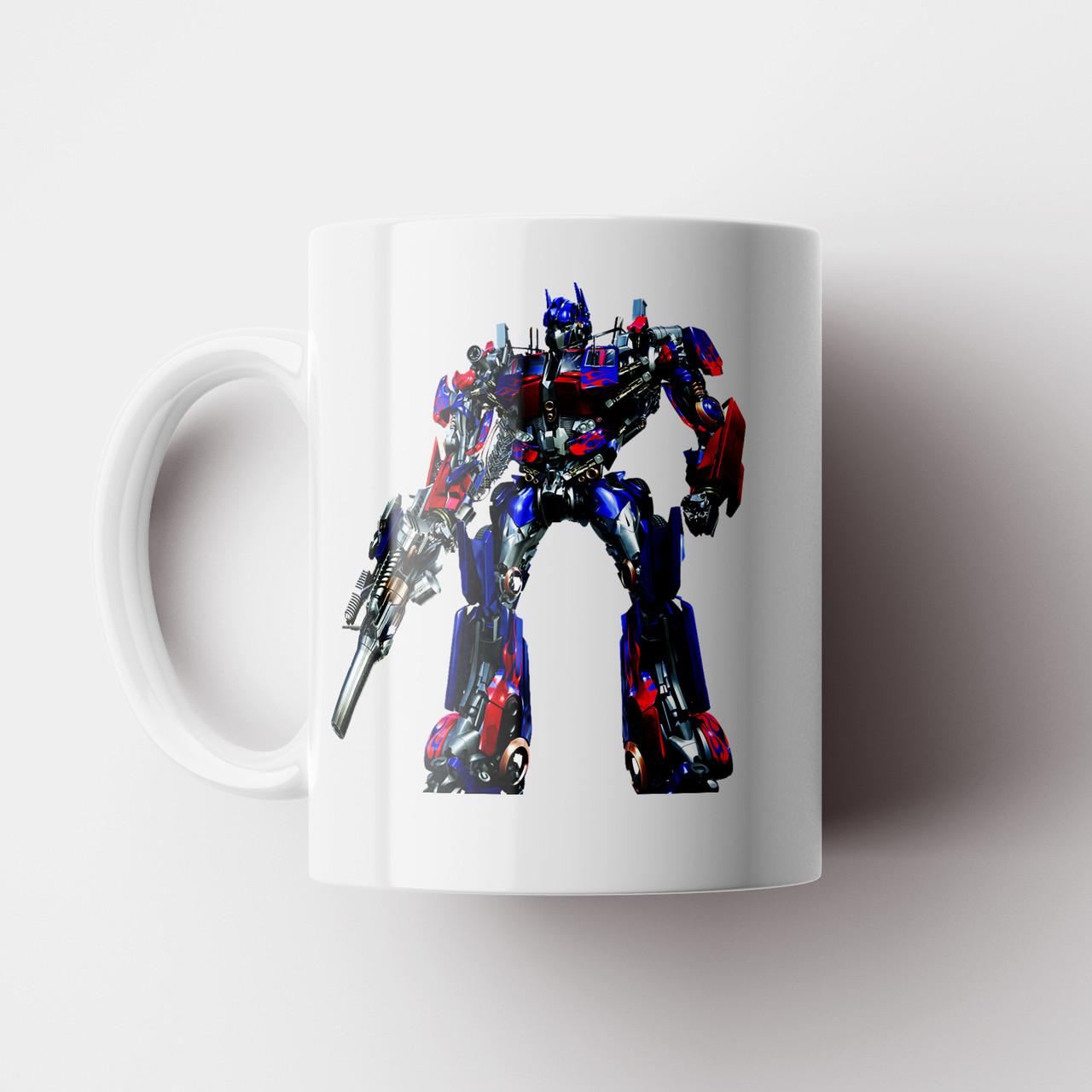 Чашка Трансформери Оптімус Прайм. Transformers