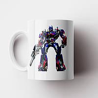 Чашка Трансформери Оптімус Прайм. Transformers, фото 1
