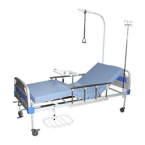 Кровать функциональная ЛФ-8 (со съемными пластиковыми перилами)