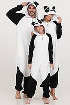 Пижама кигуруми панда украинского производства для детей и взрослых Размер 181-200+ см, фото 2