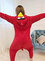 Пижама Кигуруми Angry Birds для детей и взрослых Размер 155-180 см, фото 2