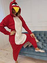 Пижама Кигуруми Angry Birds для детей и взрослых Размер 155-180 см, фото 3