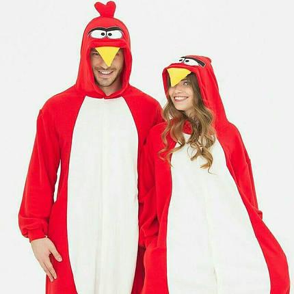 Пижама Кигуруми Angry Birds для детей и взрослых Размер 134-152 см, фото 2