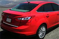 Ford Focus III 2011-2017 гг. Кромка багажника (Седан, нерж)